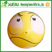 "human plastic 7"" inflatable beach ball customized"