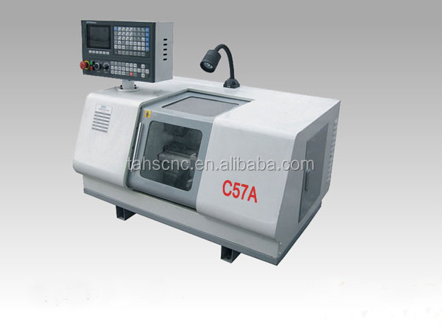 Low C57A mini cnc lathe machine Micro CNC Lathe from China factory in shan dong