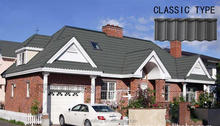 [Factory direct roofing shingle] classic metal roofing,colorful stone-coated metal roofing tiles for house using