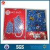 Disposable custom order Christmas plastic bike sack, giant plastic bike bag,plastic stick bag