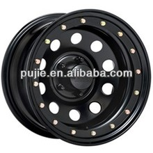 Auto part car 16x10 steel wheels