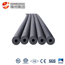 Nitrile rubber foam insulation tube/Engineered PVC NBR Plastic Fire Proof Rubber Foam