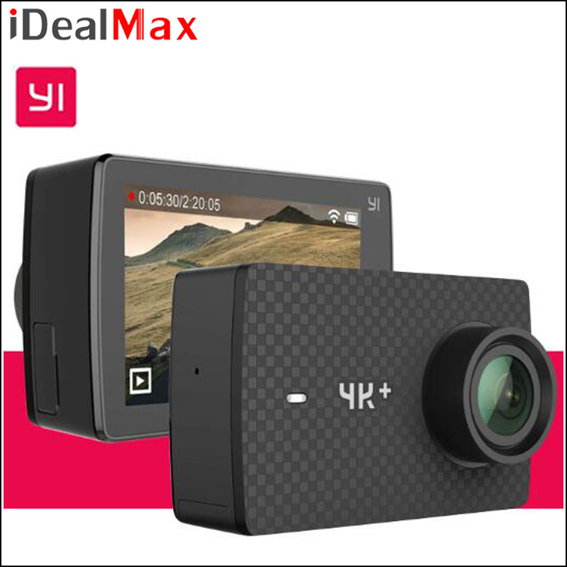 "International Edition Original Xiaomi YI 4K Plus Action Camera 4K+ Ambarella H2 SOC IMX377 4K/60fps 12MP CMOS 2.19""LDC RAM EIS"
