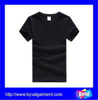 Factory direct wholesale black blank shirt OEM Custom t shirt Printing/embroidered T Shirts Manufacturers
