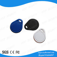 RFID Fob Proximity Key Tag with Metal Ring