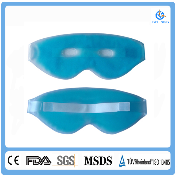 custom hot sales warm and cool therapy gel eye mask/gel eye pads