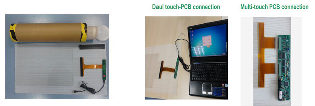 high quality usb multi touch screen foil/film kit for 2015