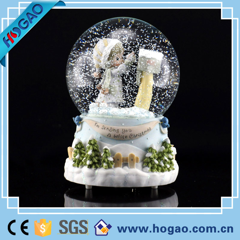 Crystal Snow Globe Water Ball with Paillette