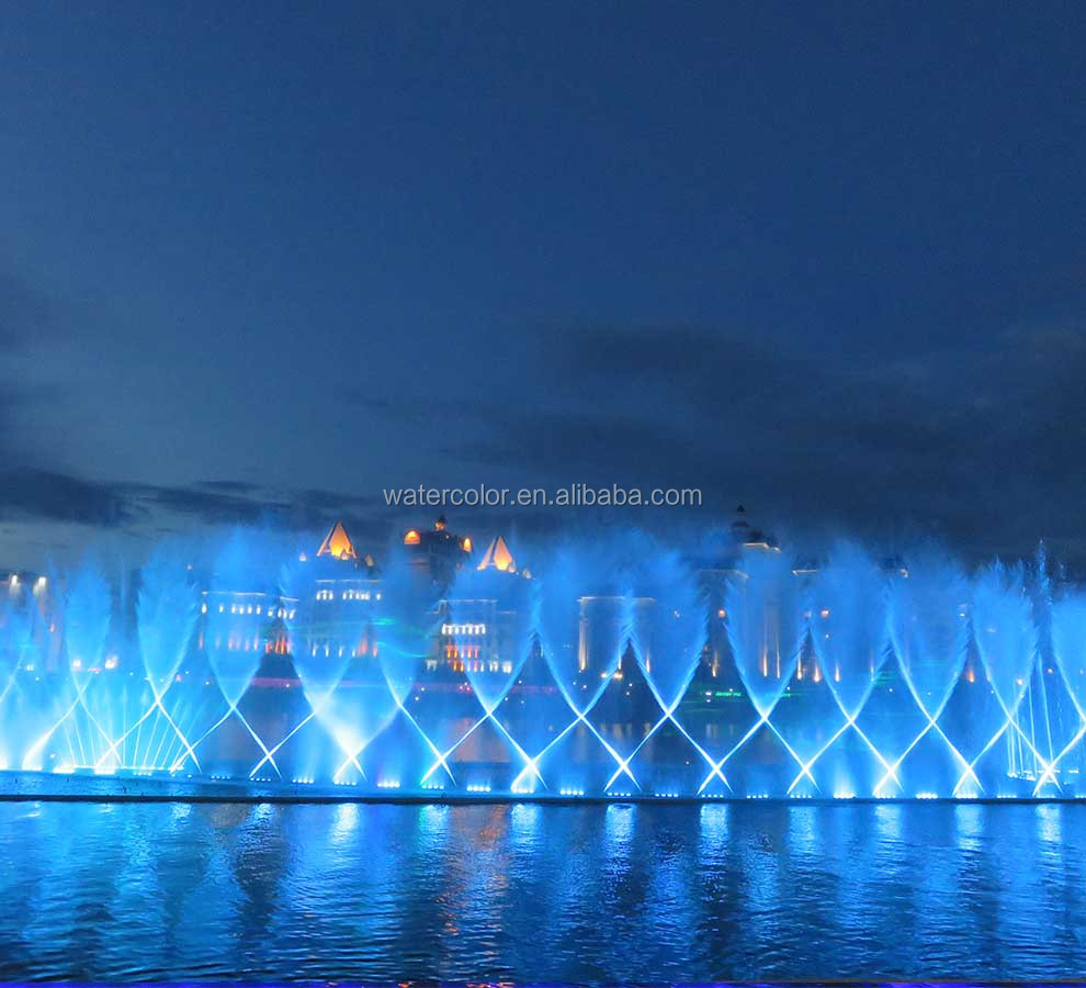 New Project Dancing Music Fountain Outdoor Fountains In Ishim River
