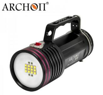 ARCHON most powerful 13000 lumen diving super <strong>led</strong> rechargeable flashlight