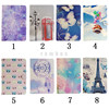"Eiffel Tower Tablet Cases Slim PU Personalised PC Cover Cases 7.9"" 9.7""for iPad Mini 1 2 3 4 for iPad 2 3 4 5 6"