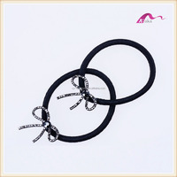 Fancy Crystal Bow Elastic Hair Band For Girls Fashion Party Accessories