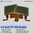 Cheap price tft lcd touchscreen with RTP for consumer application