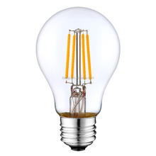 Safety Packing Dimmable 6W Led Filament Lamp 19 Anchors With E27 Base