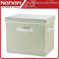 NAHAM Wholesale linen non woven fabric foldable underwear storage boxes