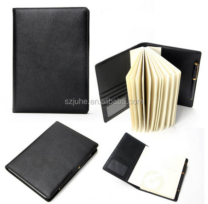 Custom leather passport holder top layer leather passport wallet rfid