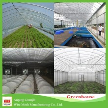 China supplier multi-span plastic film agricultural greenhouse for sale