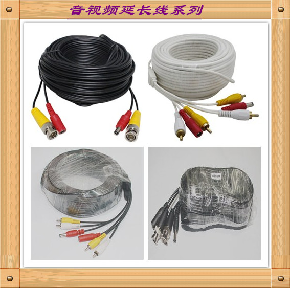 814 Factory Price OEM 5M 10M 20M 30M 50M DC+BNC+RCA+DB25+VGA+DVI CCTV cable for Security Home System,CCTV Camera , Car DVR