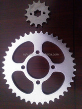 Factory supply Motorcycle crown and motorcycle pinion