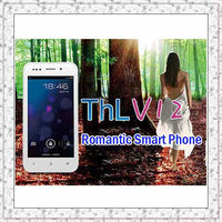 THL V12+ Dual Core MTK6577 4GB big ROM Mobile phone 4 inch 480*854 camera GPS 3G Phone Bluetooth Wifi 1300mAh