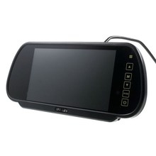Wholesale Professional 7-Inch Color Digital TFT Car Rear View Mirror Monitor with Touch Button