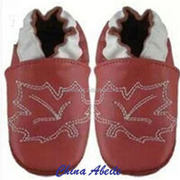 2016 winter different colors high quality price leather shoes for babies baby leather wrestling sand walking shoes
