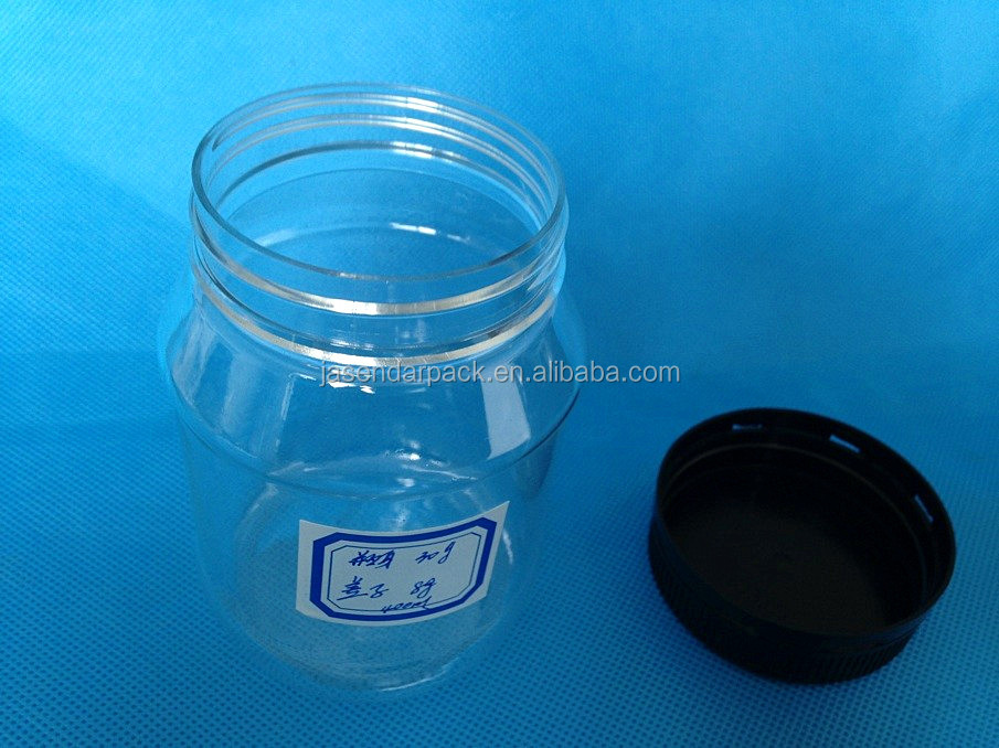 wholesale 400ml plastic salsa jars