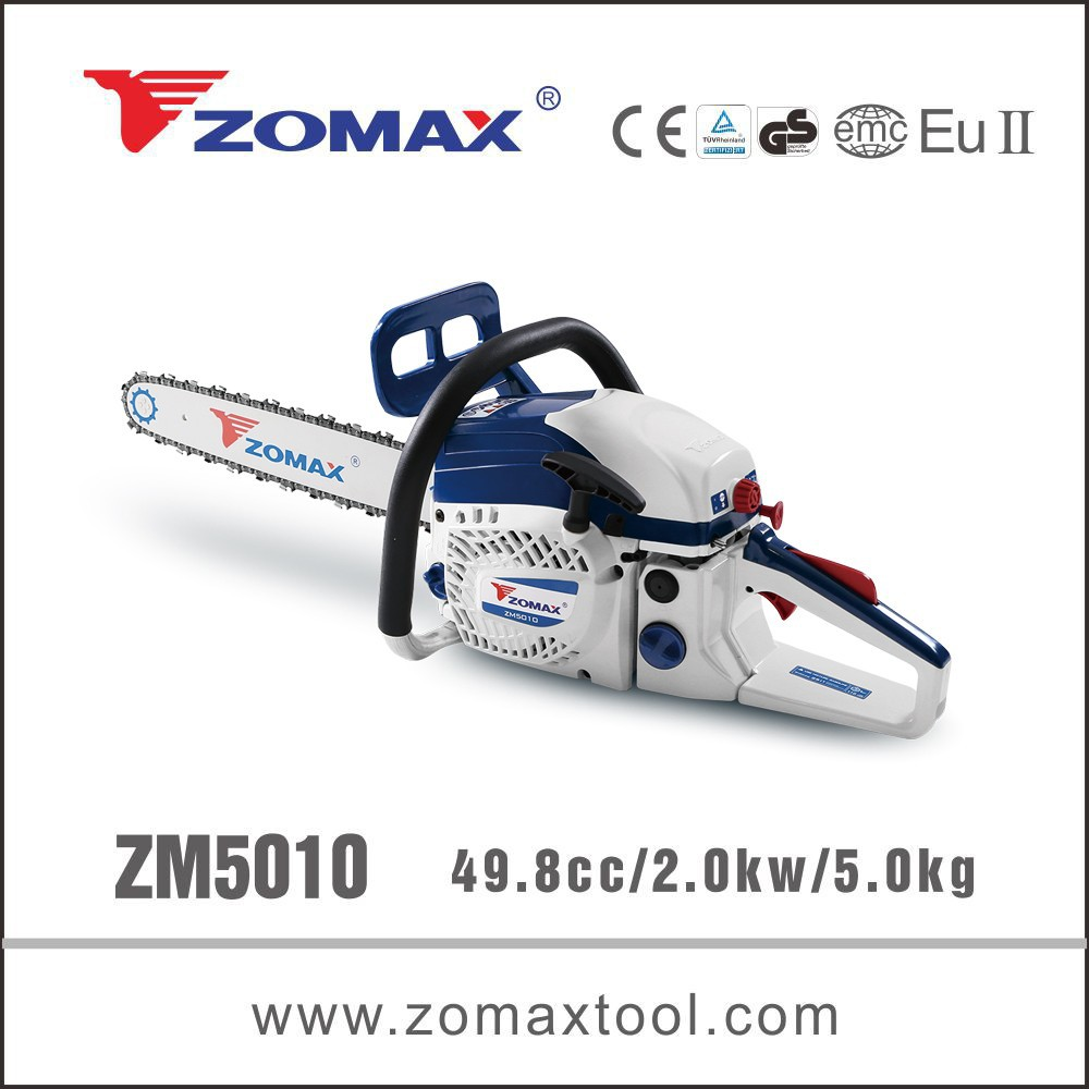 2015 muffler for chainsaw from Zomax 49.8cc ZM5010 with certificates