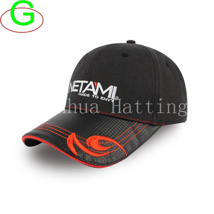 China Factory SGS Full Buckram Baseball Caps Sports Hats