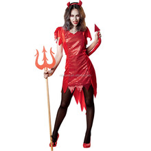 Red Hot Devil Womens Costume For Miss Argentina Costume