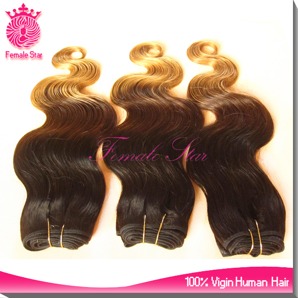 sell best product three tone color virgin indian remy hair in dubai