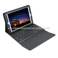 WIRELESS LEATHER BLUE TOOTH KEYBOARD FOR I PAD MINI