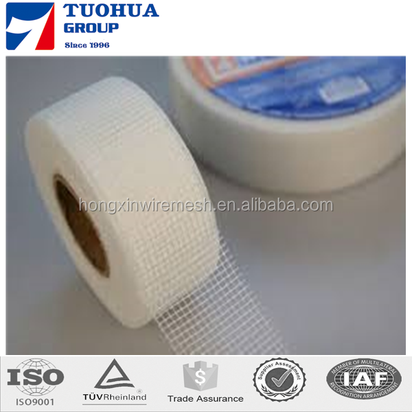 60GSM Corner Joint Fiberglass Mesh Tape For Drywall 2.5MMX2.5MM