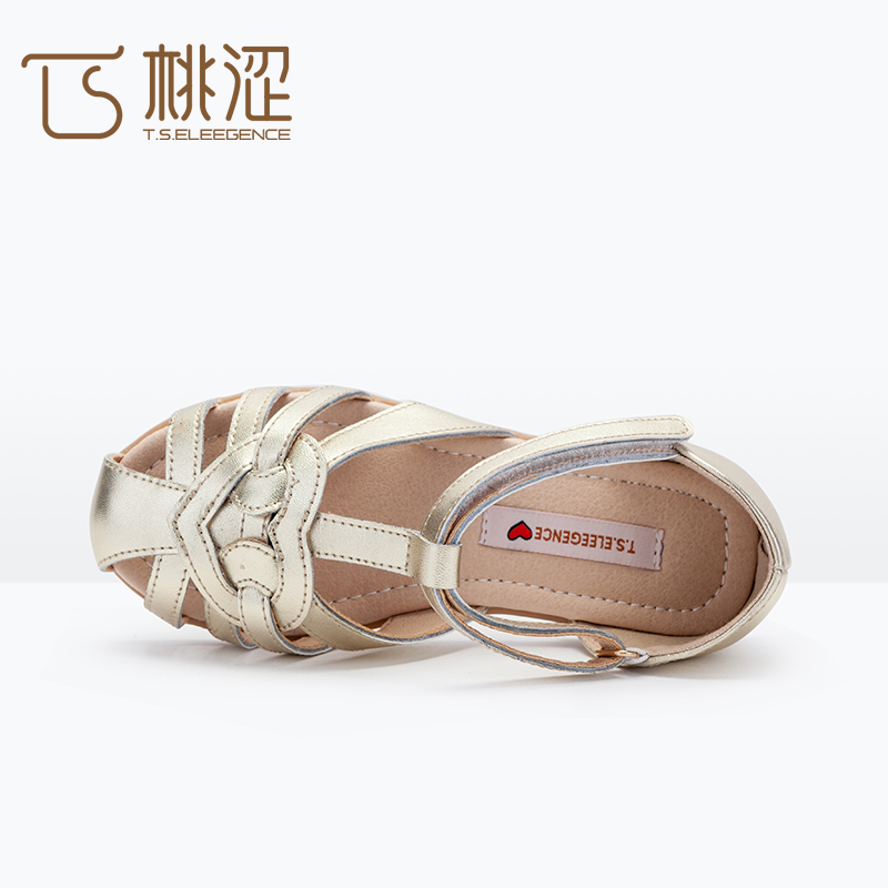 2017 <strong>Sandal</strong> Design Style KInd Nude Gold Silver Brown Full Toe Stripe Girls Flat <strong>Sandal</strong>
