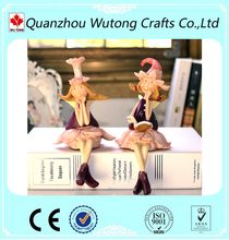 custom made home decoration lovely resin fairy figurines wholesale