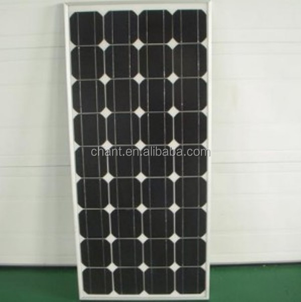 110w mono crystalline solar panel,high efficiency solar cell manufacturer photovoltaic solar panel cheap