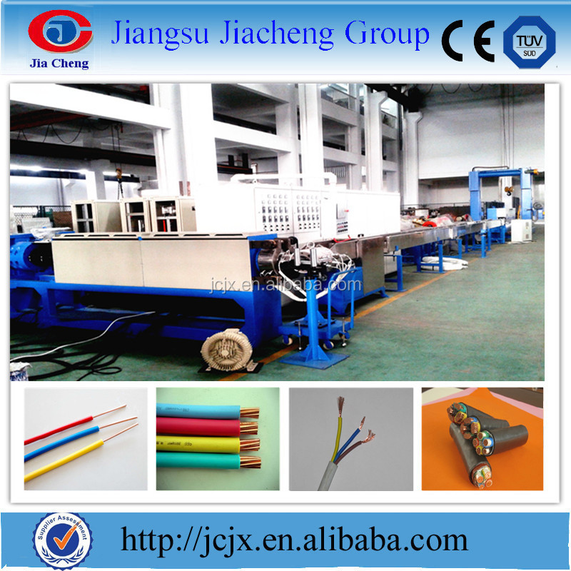 China Supplier Electric housing wires and cables making equipment
