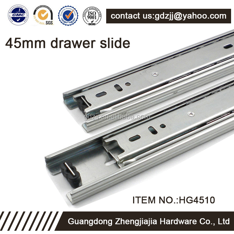 45mm Stainless Steel Superior Quality Table Tracks Drawer Slide