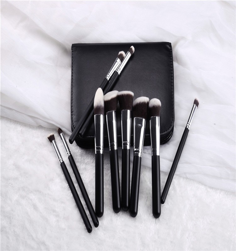 2016 hot sale 10 pcs makeup brush set for women ,Makeup Tools for Perfect Personal Care