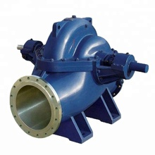 S irrigation works double suction water pump