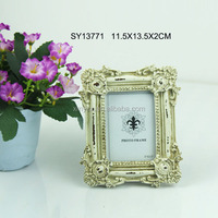 shabby chic frame small size photo picture for home decor