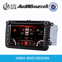 car gps dvd player for VW/Skoda car support IPAS/OPS/Parking video fuction
