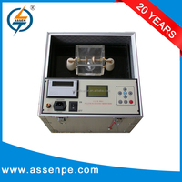 High technology portable insulating oil tester, break down voltage testing set