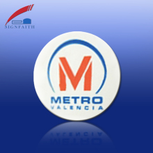 RFID Metro Card Numbered Plastic Tokens