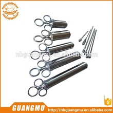 stainless steel beef meat injector basting tools meat saline injector metal