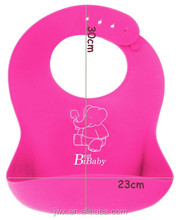 Soft Silicone Adult Baby Bib,Easy to Rinse and Re-use Baby Bibs