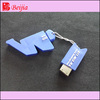 Anti dust silicone usb cover with keychain, usb cover with keychain, silicone usb cover keychain