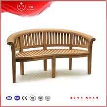 Hot China Manufacture Outdoor Wood Plastic Composite Garden Bench Flooring Garden Bench Outdoor