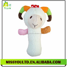Sheep Pattern Baby Handbell Toys Wholesale