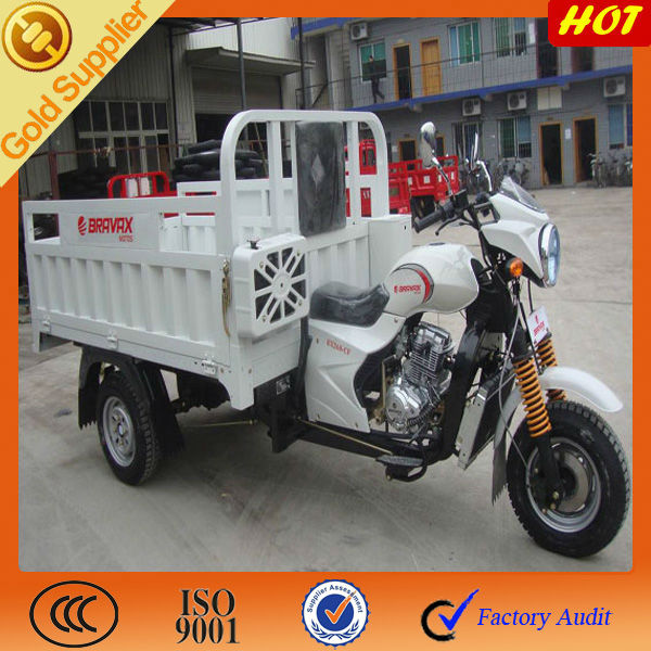 200cc Three Wheel Motor Cargo Scooter for Sale
